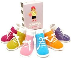 6 pairs of Baby Girl Jenny's Tennis Shoe Socks by Trumpette - Multi - 0-12 Mths: Clothing