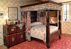 William Morris's Bed - saw it, it's exquisite.