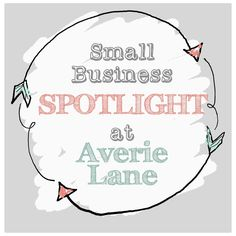 Welcome to another Small Business Spotlight!       Intro before introductions: As a stay-at-home mom who runs a small Etsy  business on the...