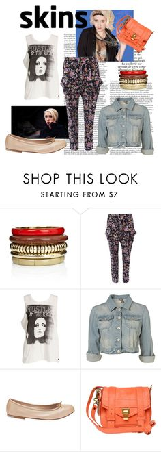 """hopelessness"" by mcmagda ❤ liked on Polyvore featuring One Teaspoon, Bloch, Proenza Schouler and naomi campbell skins lily loveless"