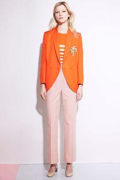 Stella McCartney Resort 2012 Fashion Show - Kasia Struss