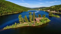Drumroll please. 🥁🥁🥁🥁Announcing Island Lodge at Salmon Lake just 10 minutes from Paws Up. Summer guests will get to experience lake activities here, and this will be the ideal setting for weddings, group events and more. Montana Resorts, Romantic Resorts, Ranch Vacations, Travel News, Lake Life, Day Trips, Around The Worlds, Island, Salmon