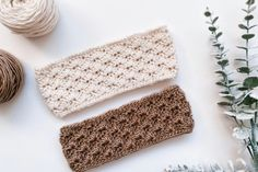 Easy Crochet Headbands, Crochet Headband Pattern, Easy Crochet Patterns, Crochet Ideas, Crochet Scarfs, Crochet Flower, Baby Headbands, Crochet Gratis, Free Crochet