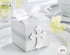 Un cadeau d'invité parfait pour une communion ou une confirmation. #cadeauxinvites #boitedragee