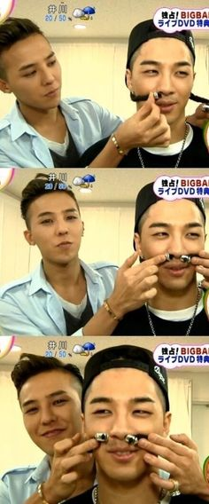 GD & Taeyang...life must be fun for them...lol