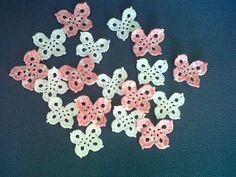 I miei lavori all'uncinetto: Altre farfalle