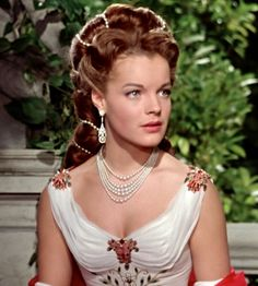 Romy Schneider as Empress Elisabeth 'Sissi' of Austria in Sissi - The Young Empress (1956).