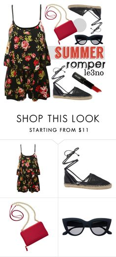 """le3no.com 3"" by deeyanago ❤ liked on Polyvore featuring LE3NO, Circus By Sam Edelman, TravelSmith, Lord & Berry and summersandals"