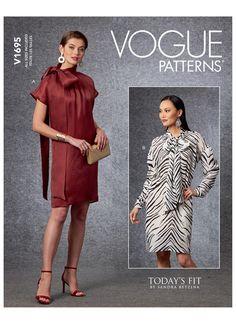 Dress Patterns Uk, Wedding Dress Patterns, Dress Making Patterns, Coat Patterns, Clothing Patterns, Sewing Patterns, Patron Simplicity, Couture Sewing Techniques, Vintage Vogue Patterns