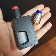 Mod : Geekvape athena squoker Tank : Vandy Vape Bonza Rda  Its look nice Avaible at jualvape.com