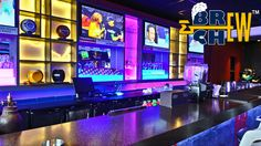 Underdoggs Sports Bar and Grill Bar Section   Bangalore