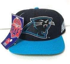 614366625 vtg 1995 NFL DRAFT CAROLINA PANTHERS SNAPBACK HAT sports specialties  sidewave  SportsSpecialties  CarolinaPanthers Carolina