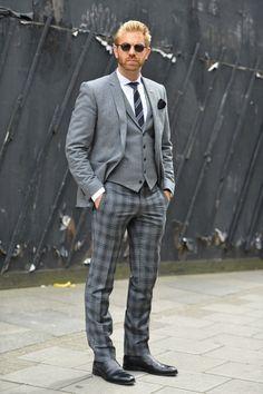 tartan suit mens - Google Search