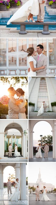 """Bountiful LDS Temple Wedding  - MormonFavorites.com  """"I cannot believe how many LDS resources I found... It's about time someone thought of this!""""   - MormonFavorites.com"""