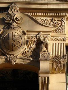 Renaissance revival detail, Bristol