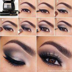 smokey makeup