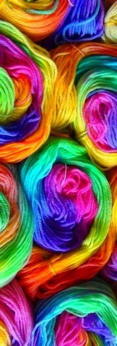Ik hou van de kleuren van de regenboog.....!