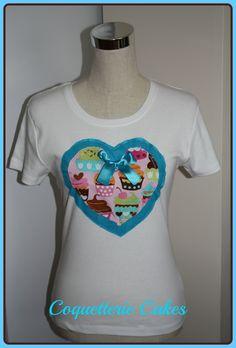 Camiseta heart cake