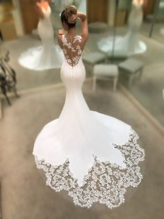 Featured Wedding Dress: Enzoani; www.enzoani.com; Wedding dress idea.