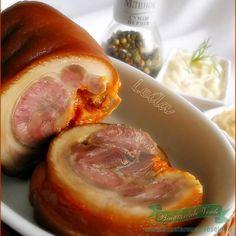 De e vara , de e iarna aceasta rulada de ciolan este perfecta sa o serviti cu sos de hrean, mustar , maioneza fiarta ! Sausage, Meat, Pork, Sausages