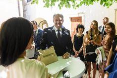 DofE Slovakia ceremony with Slovak president Mr Kiska #president #intaward #cis #slovakia #bratislava