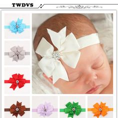 Baby & Toddler Clothing Hair Accessories Baby Rabbit Headband Cotton Elastic Bowknot Hair Band Girls Bow-knot Newborn Bow Relieving Heat And Thirst.