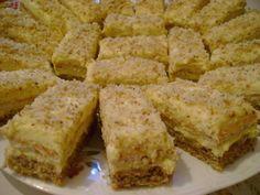 Prăjitură cu nucă și ness Romanian Desserts, Romanian Food, Cookie Recipes, Dessert Recipes, Baking Classes, Good Food, Yummy Food, Sweet Cakes, Holiday Baking