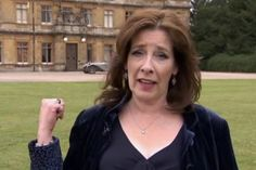 Phyllis Logan plays Mrs Hughes on Downton Abbey Phyllis Logan, Downton Abbey Cast, It Cast, British, Actresses, Actors, Films, Movies, Country Living