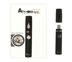 Atmos Thermo Portable Vaporizer Atmos Thermo vaporizer, small compact design, quick heat up time, travel case included, long battery life, including 2 thermo batteries, 2 atomizers, 2 tank cartridges, 2 tank covers 1 USB chargers and 1 carrying case