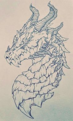 47 super Ideas for drawing ideas dragon pencil Drawing Dragon, Dragon Sketch, Cool Dragon Drawings, Pencil Sketch Drawing, Pencil Drawings, Drawing Ideas, Pencil Art, Drawing Art, Nail Drawing