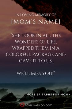Learn everything you need to know to write the best epitaph for your loved one. Brother Quotes, Dad Quotes, Quotes For Kids, Bible Quotes, Loss Of Mother Quotes, In Loving Memory Quotes, Bible Verse For Moms, Bible Verses, Memorial Quotes For Mom