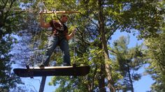 If you don't want to climb them, skateboard between trees (yes, really!) on their aerial course - which also includes a zipline and other fun challenges.