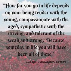 Monday Morning Motivation: George Washington Carver — How far will you go