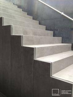1000 images about proyectos residenciales on pinterest - Escaleras de cemento para interiores ...