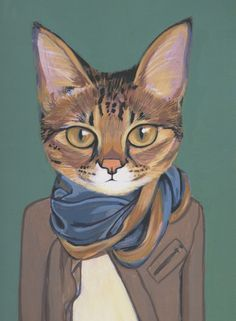 Cats in clothes, Heather Mattoon
