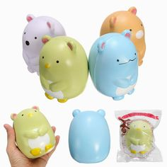SquishyShop Cute Animals Doll Squishy Jumbo 14cm Slow Rising With Packaging Collection Gift Toy