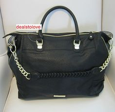 This  Steve Madden bag is so cute and big! I think it would make an excellent everyday bag!:)