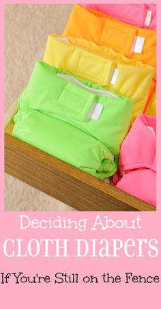 Cloth Diapers: If you're still on the fence - including where to buy, washing, and MORE. Decide what's best for your baby girl or baby boy.  | parenting | kids | baby | pregnancy