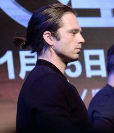 Man bun seb is my only man bun exception, Sebastian stan