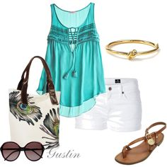color, created by #gustinz on #polyvore. #fashion #style CALYPSO ST. BARTH AG Adriano Goldschmied