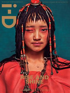 Langsuowangmu  by Chen Man   for iD mag ...the illuminati is everywhere.