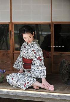 生成り 木の実|夢館オリジナル着物&浴衣