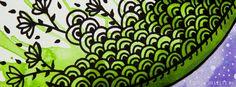 Lua- Background e Wallpaper criados por Carol Delleteze. Desenhos originais, únicos, feitos a mão disponíveis para download.  #caroldelleteze #background #wallpaper #desenholudico #arte #art #handmade #illustration #pattern #lua #moon #flores #floral #flower