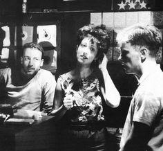 New Order: Peter Hook, Gillian Gilbert y Bernard Sumner