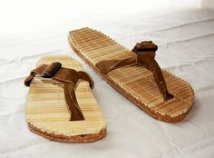 Reuse Chopsticks Make shoes