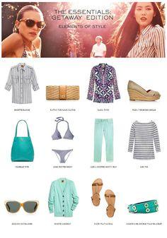 Getaway Essentials #toryburch