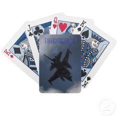 $25.15 - F-16 Fighting Falcon in the Cloudy Sky Bicycle Poker Deck - F16 Fighting Falcon flying in the sky through the clouds. Military Jets performing exercises, our of Nellis Air Force Base in Las Vegas, Nevada. The F-16 Fighting Falcon is a compact, multi-role fighter aircraft. It is highly maneuverable and has proven itself in air-to-air combat and air-to-surface attack. It provides a relatively low-cost, high-performance weapon system for the United States and allied nations.