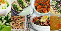 30 Vegan Lunches  Because you don't need to be fully committed to being vegan, to enjoy some great food. Including vegan alternatives in your diet gives your tummy a well deserved break, and your body will feel amazing!!