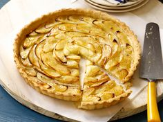 Prepare apple pie's elegant French cousin: the apple tart. If you don't feel like rolling out dough, you can also press the crust mixture into your tart pan.