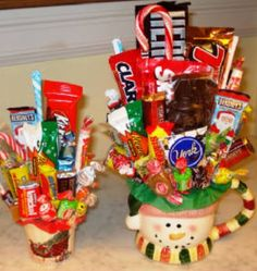 Candy bouquet idea even for holidays